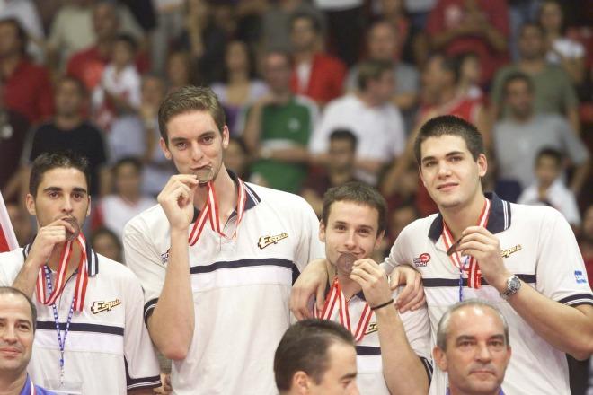 fuente: www.marca.com La medalla...es buena...de oro del bueno, un oro que era el reflejo del talento que había en los juniors de oro