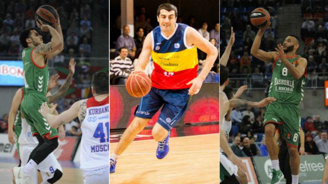 Fuetne: marca Larkin, Hanga y Shermadini 3 jugadores sujetos a derecho de tanteo en la ACB