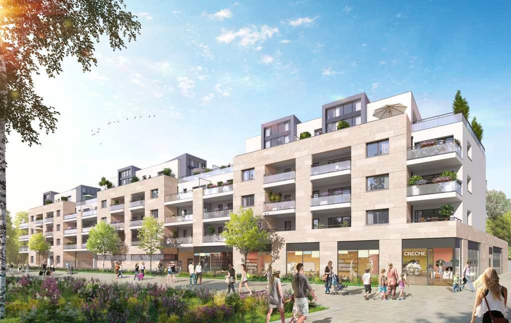 Perspectives Logements Projet Grand Paris Aménagement