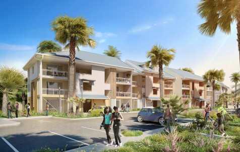 Concours 50 logements à Montalègre ARCHITECTE : COULEURS D'ARCHITECTURE
