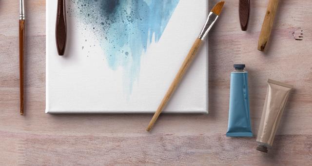 Artistic Psd Art Canvas Mockup  Psd Mock Up Templates  Pixeden
