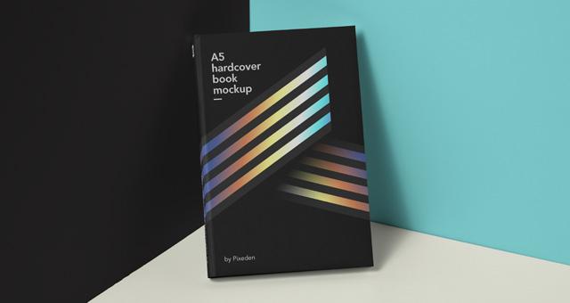 Psd Book Mockup Hardcover Psd Mock Up Templates Pixeden