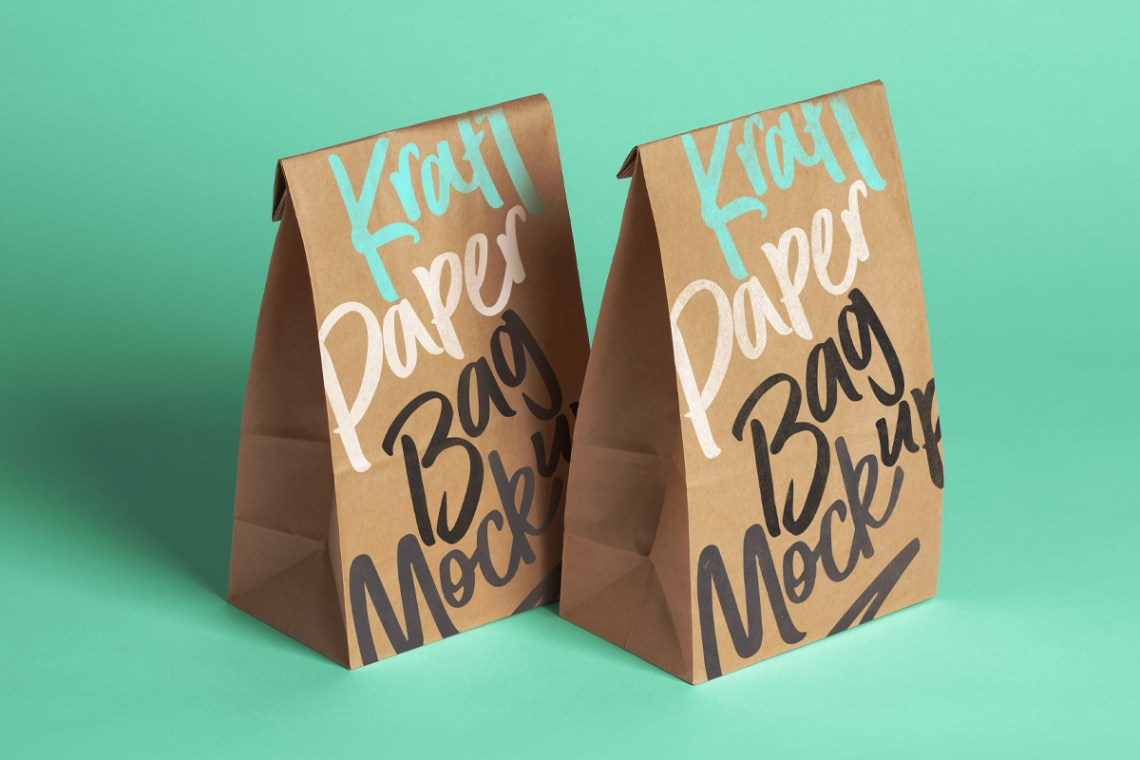 Download 19+ Packaging Black Paper Bag Mockup Images Yellowimages ...