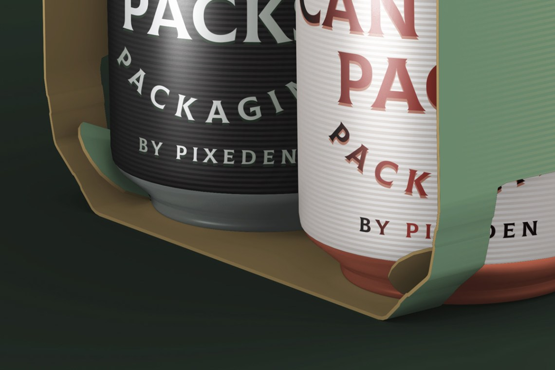 Download Psd Mockup Beer Can Packaging | Psd Mock Up Templates ...