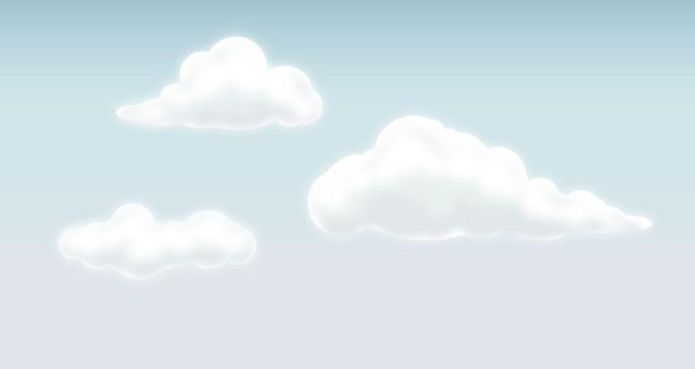 Vector Clouds Set  Vector Objects  Pixeden