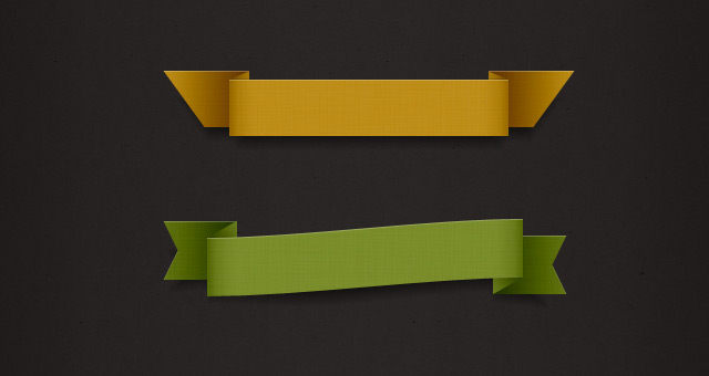 Psd Ribbon Pack Styles  Psd Web Elements  Pixeden