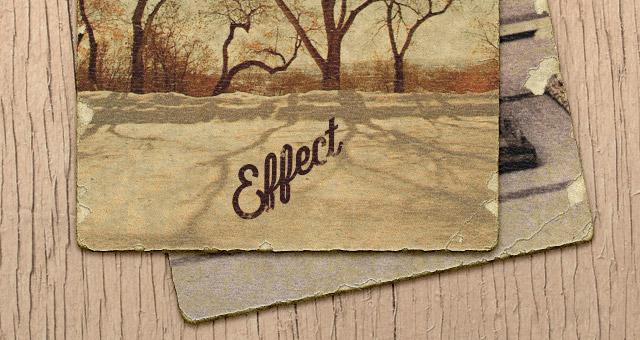 Retro Old Photograph Effect  Miscellaneous  Pixeden