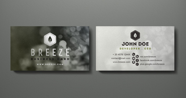 Psd Corporate Business Card Vol 6 Business Cards