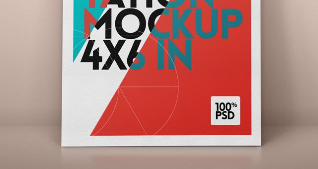 Psd Flyer Mock Up Vol1 Psd Mock Up Templates Pixeden