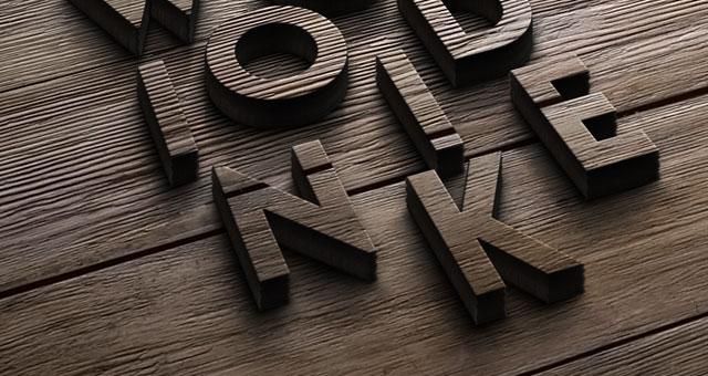 Wood Logo MockUp Template  Psd Mock Up Templates  Pixeden