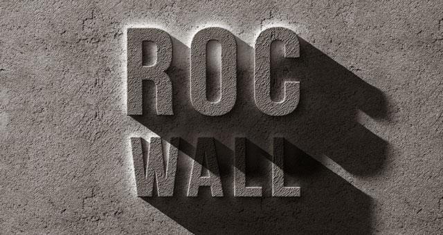 Psd Concrete Rock Text Effect  Photoshop Text Effects