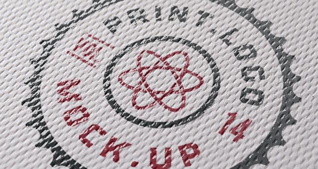 Print Logo Mock Up Template Psd Mock Up Templates Pixeden