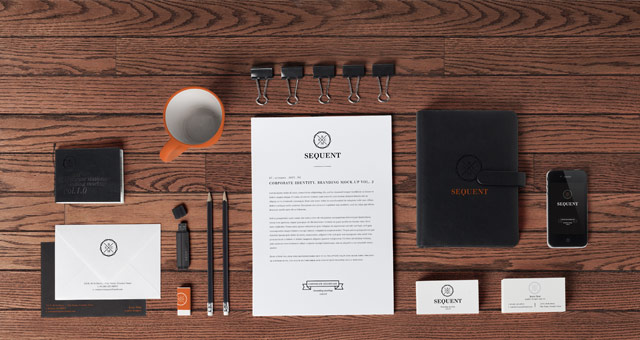 Stationery Branding Mock Up Vol 2  Psd Mock Up Templates  Pixeden
