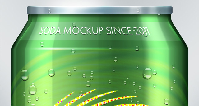 Psd Soda Can MockUp Template  Psd Mock Up Templates  Pixeden