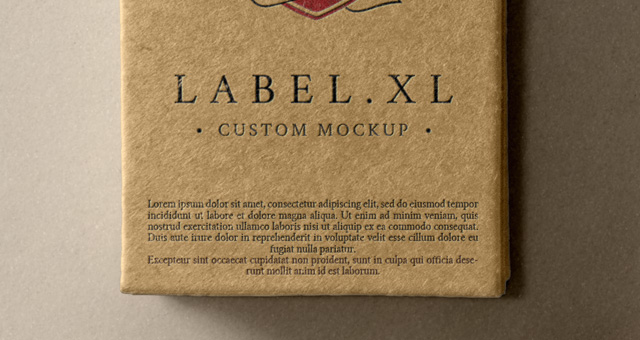 Psd Label Brand Mockup Vol1 Psd Mock Up Templates Pixeden