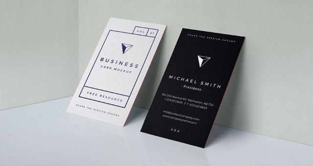 Psd Business Card Mock Up Vol27 Psd Mock Up Templates
