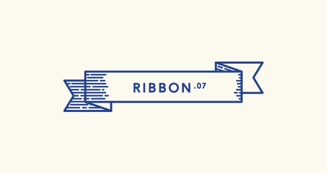 Retro Outline Ribbon Vector Set  Decorative Vectors  Pixeden