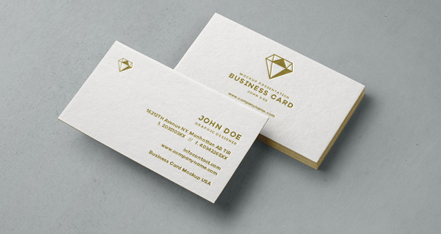 Psd Business Card Mock Up Vol31 Psd Mock Up Templates