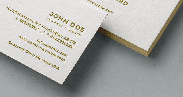 Psd Business Card MockUp Vol31  Psd Mock Up Templates