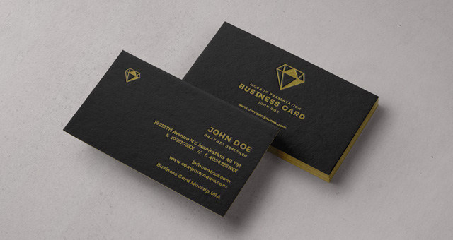 Psd Business Card Mock Up Vol31 Psd Mock Up Templates