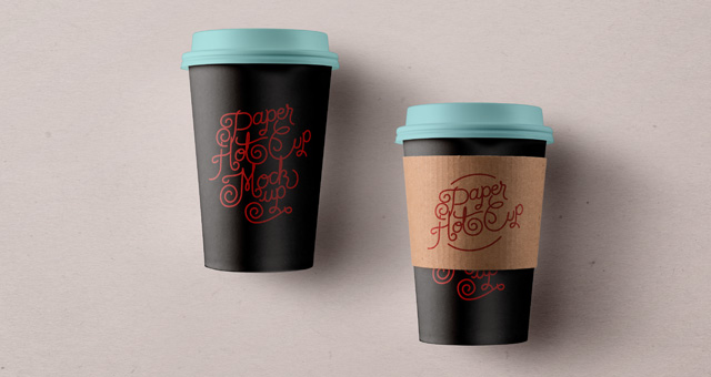 Psd Paper Hot Cup Template Vol3  Psd Mock Up Templates  Pixeden