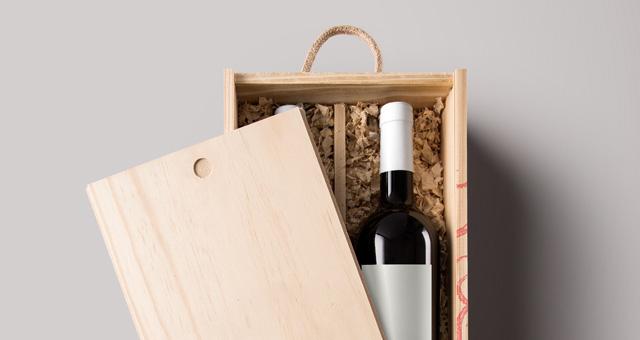 Psd Wine Wood Box Mockup Vol2 Psd Mock Up Templates