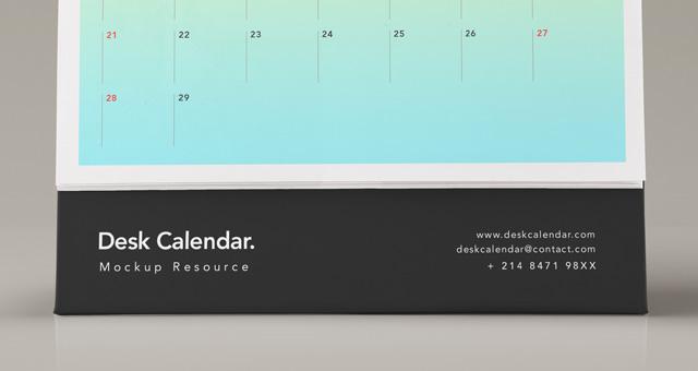 Photo Desk Calendar
