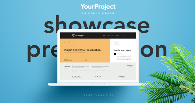 Psd Showcase Project Presentation Vol2 Psd Web Elements