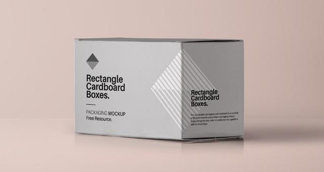 Download Rectangular Psd Box Mockup | Psd Mock Up Templates | Pixeden