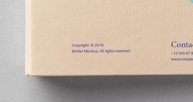 binder templates free