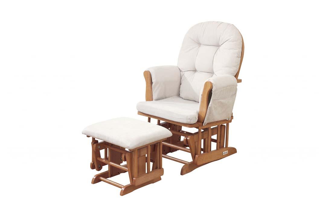 Groovy The Beautiful Kub Haywood Glider Nursing Chair Footstool Ncnpc Chair Design For Home Ncnpcorg