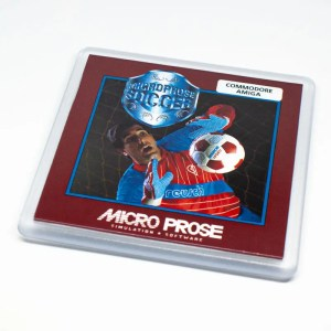 Microprose Soccer coaster