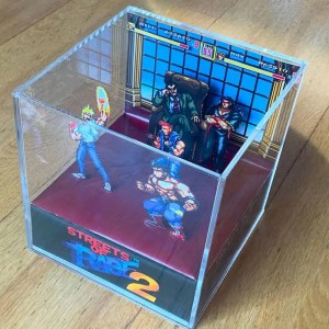 Streets of Rage 2 Cube Diorama