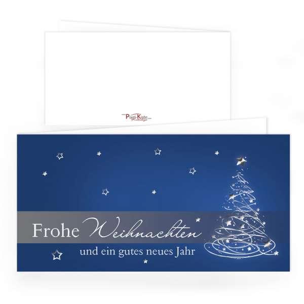 geschftliche und private Weihnachtskarten individuell drucken