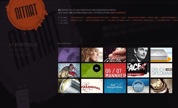 Single Page Portfolio Websites