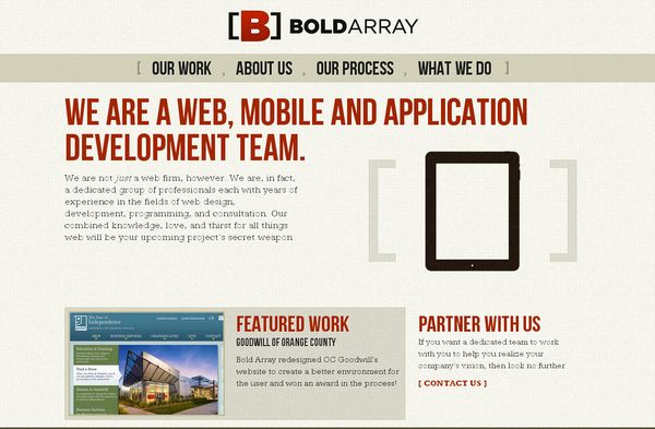 Big Typography Websites
