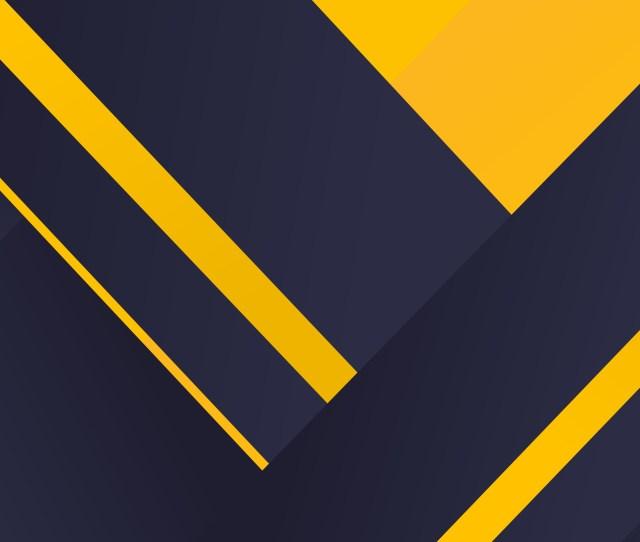 Geometric Material Yellow Blue 4k
