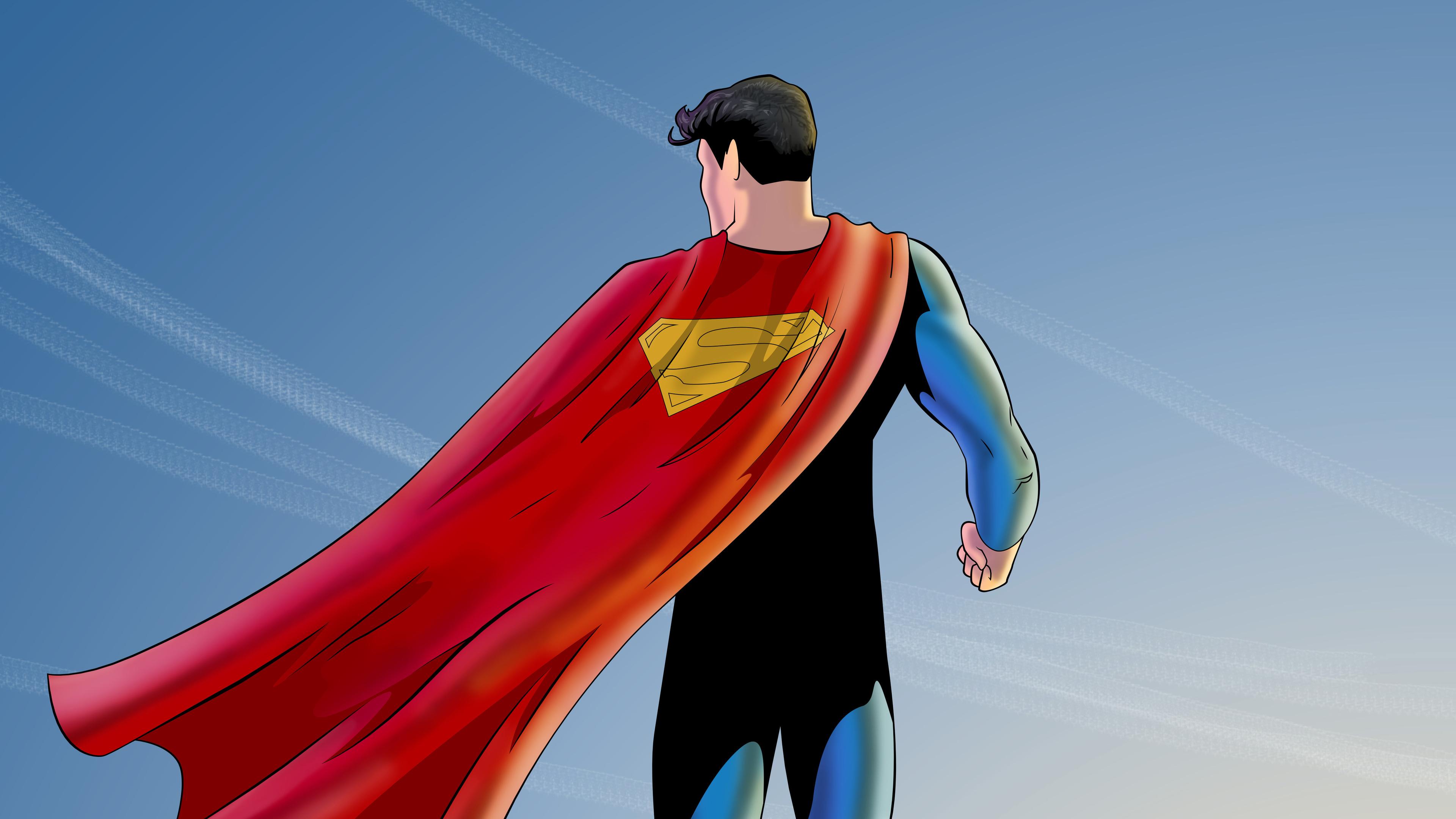 Batman Superman Iphone Wallpaper Superman And The Sun Artwork 5k Superman Wallpapers
