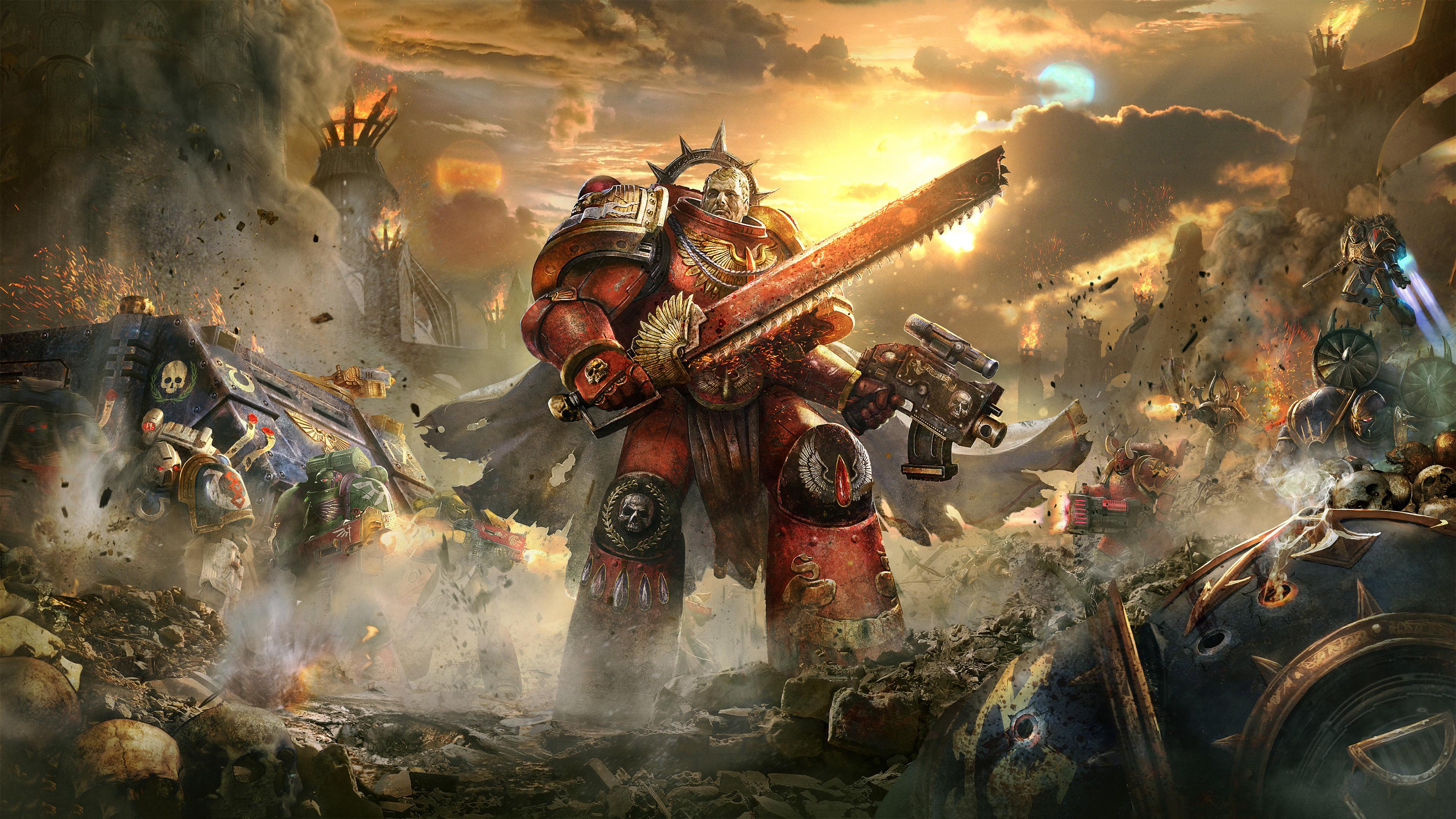 Attack On Titan Cute Wallpaper Warhammer 40000 Warhammer 40000 Dawn Of War Iii Wallpapers