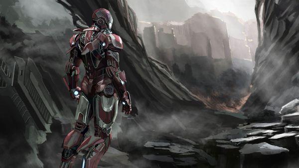 Iron Man Art 2019 4k Superheroes Wallpapers