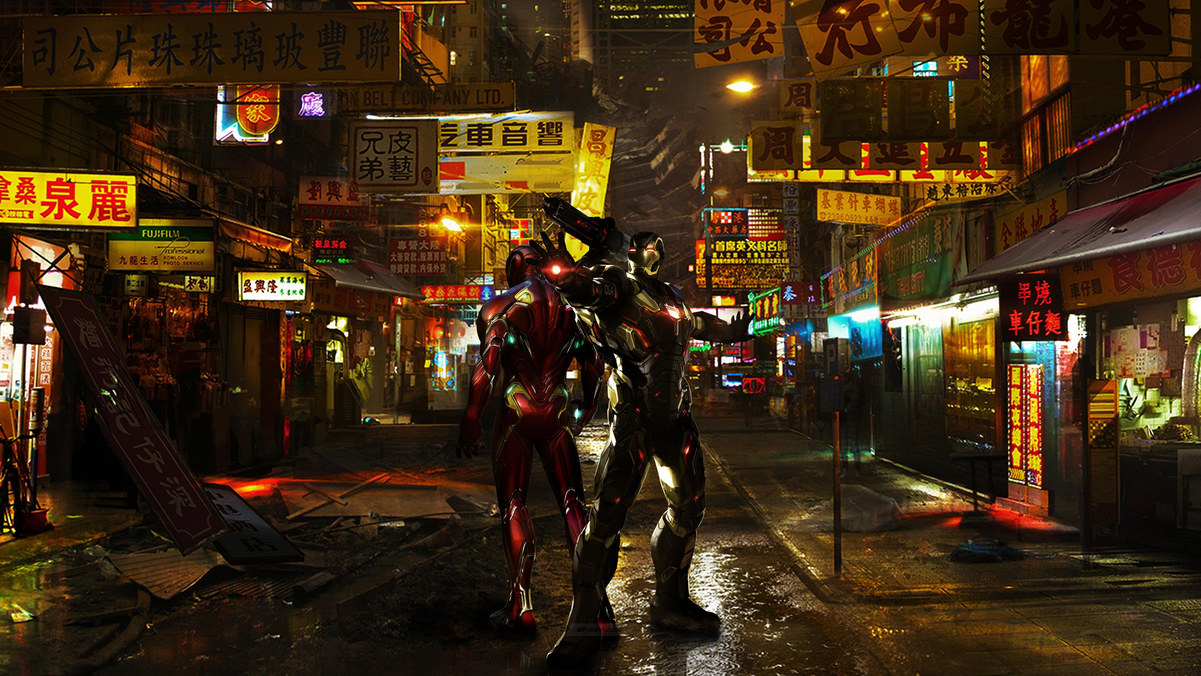 1280x1280 Car Wallpaper Iron Man And War Machine 4k War Machine Wallpapers
