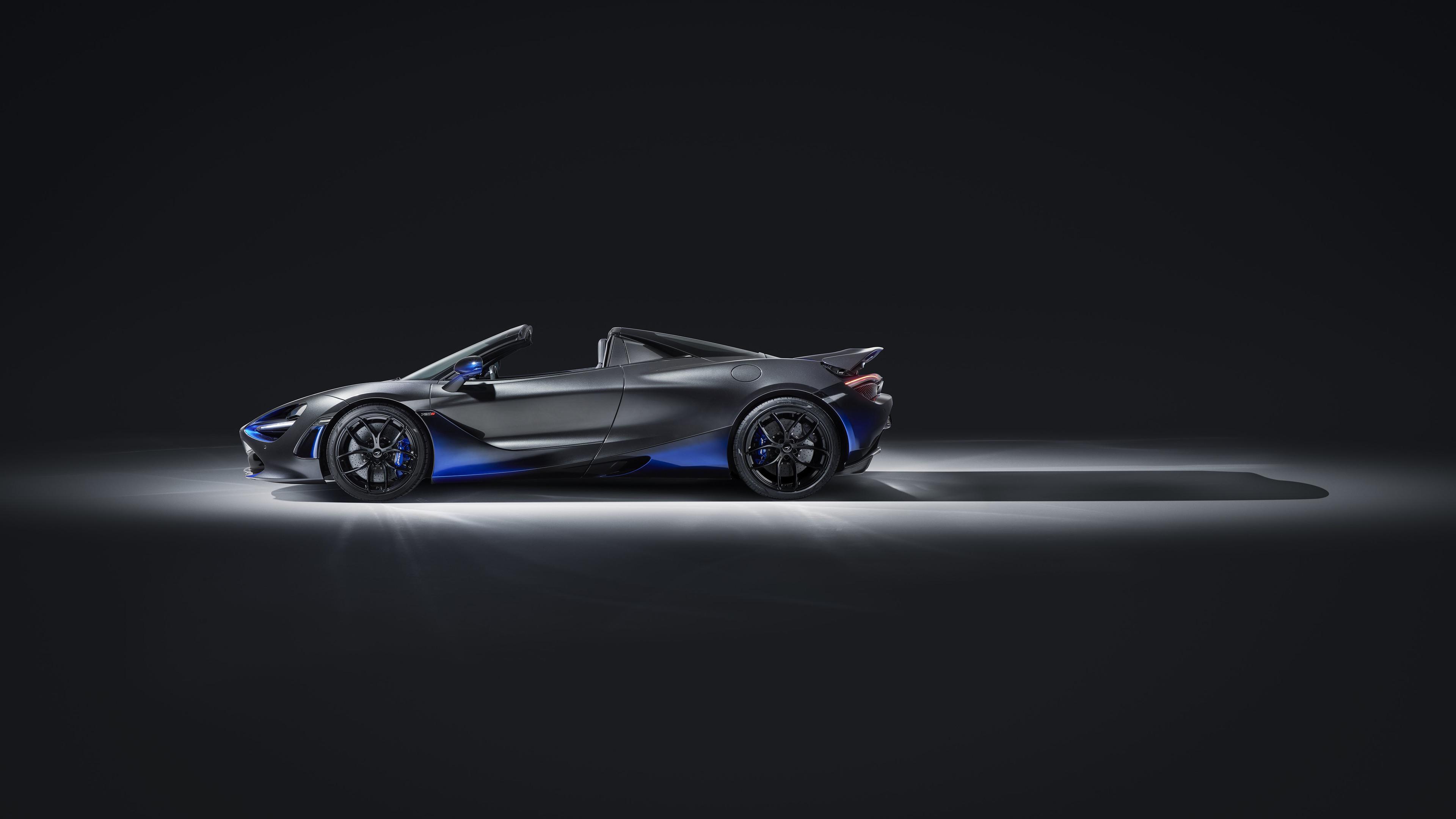 Wallpaper 4k Mclaren Mso 720s Spider 2019 Side View 4k 2019 Cars