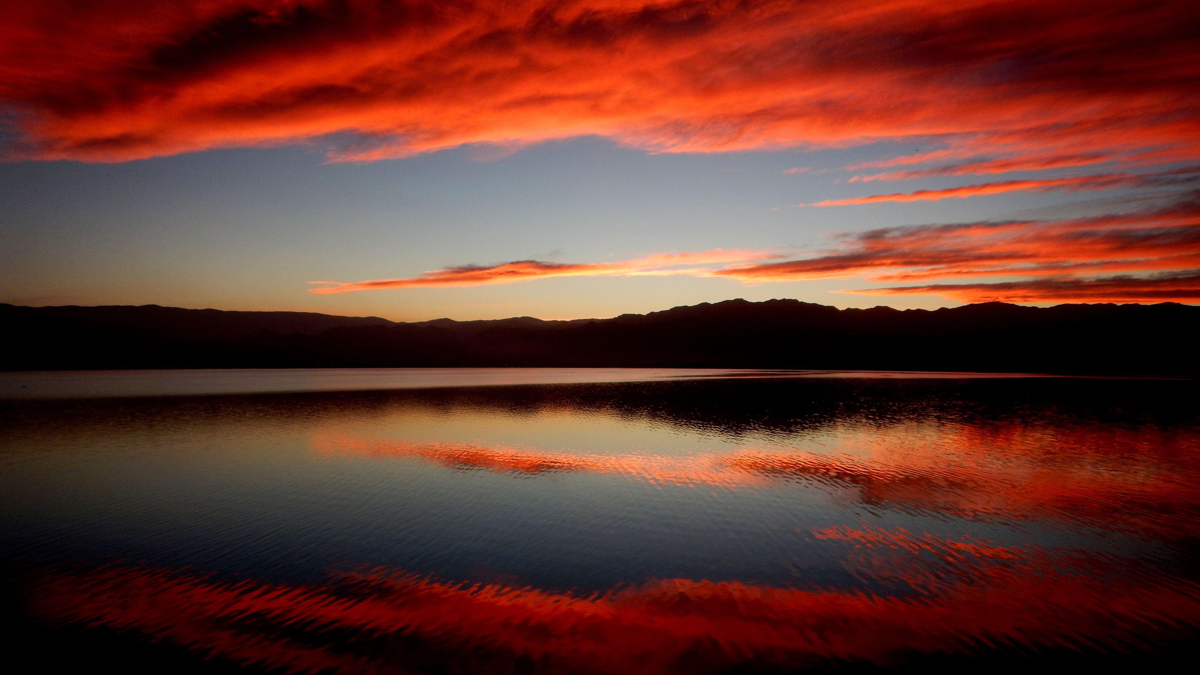 Dual Monitor Car Wallpaper Hd Sunset Reflection Beach 4k Sunset Wallpapers Reflection