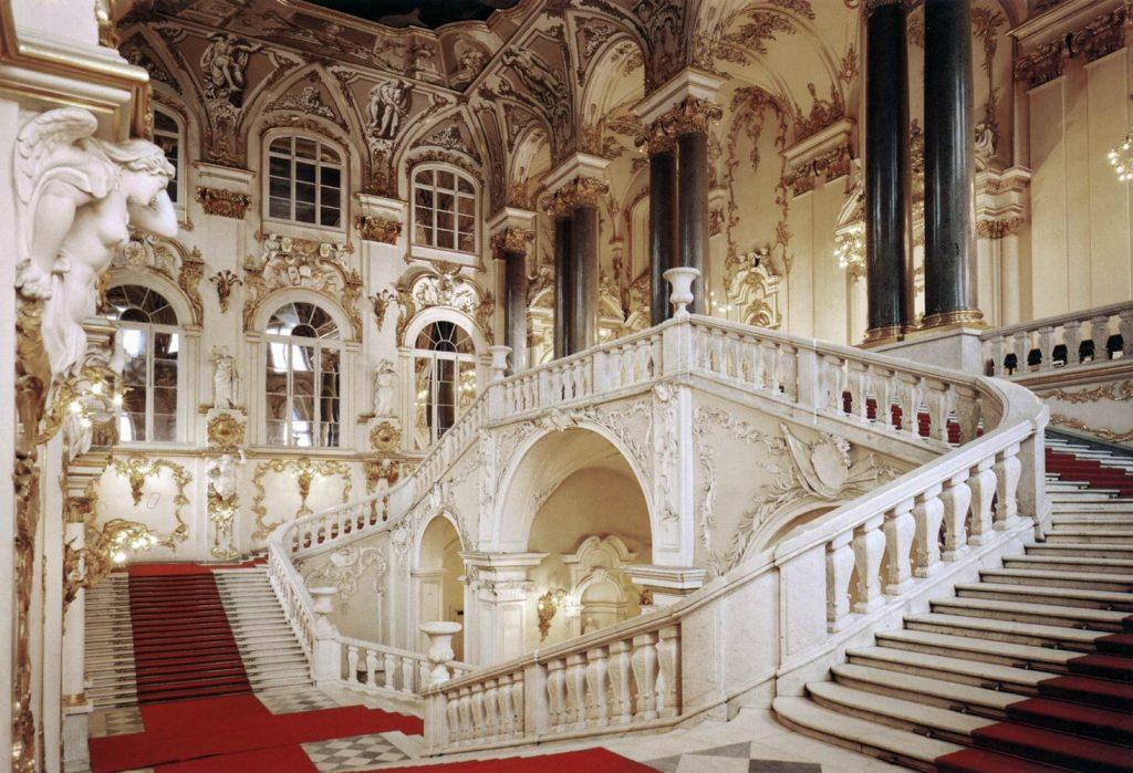 Resultado de imagem para hermitage baroque architecture