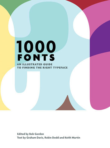 1000 fonts 15 Books Every Graphic Designer Should Read