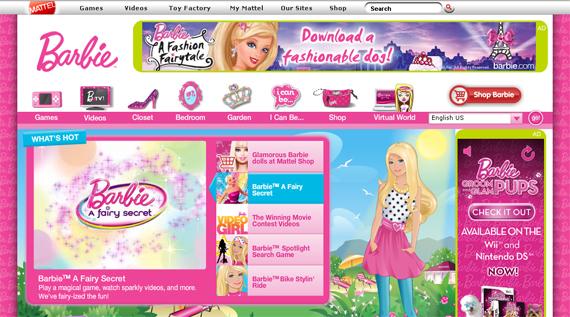 Barbie Garden Games