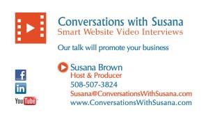 Conversations with Susana