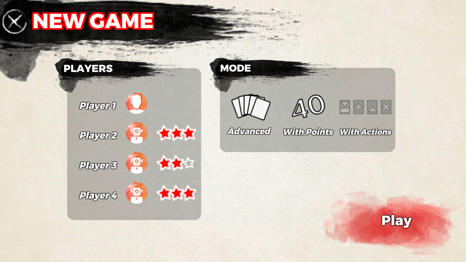 Red 7 - setup