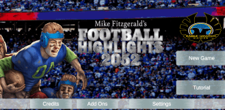 football highlights - menu