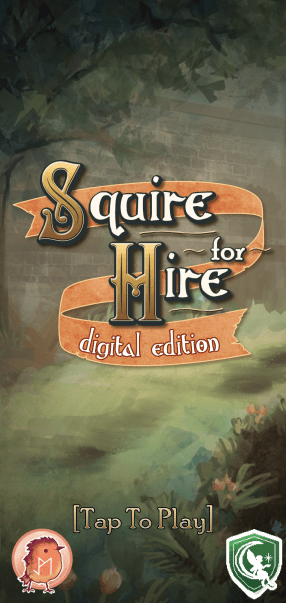 squire for hire - menu